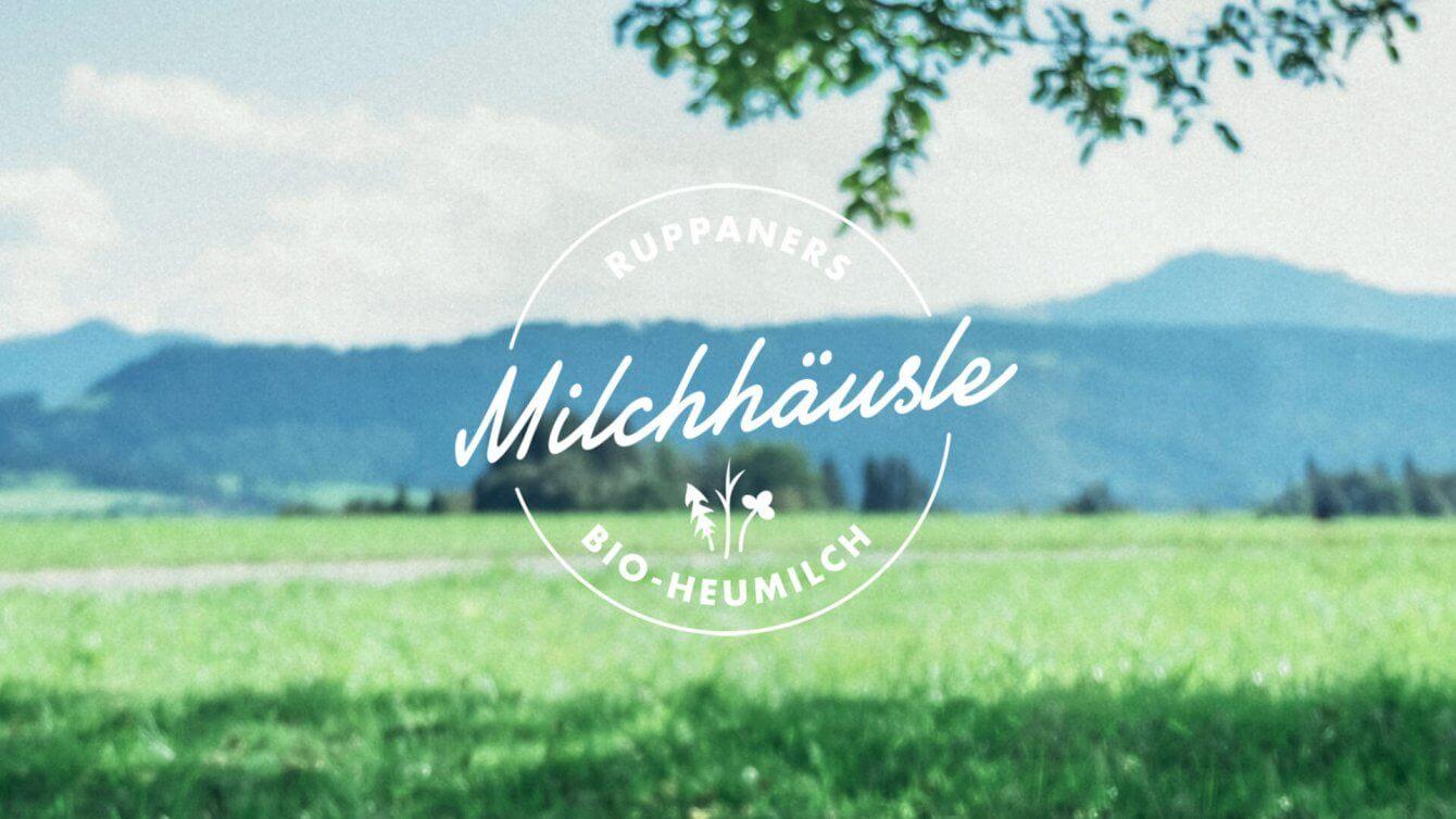 Milchhäusle Logo flexible Wort- und Bildmarke
