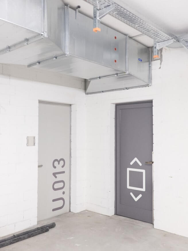 qubus29 Leitsystem in Tiefgaragen