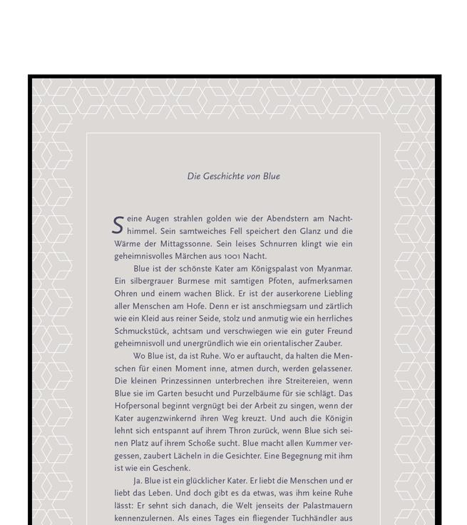 """Marketing-Prizinzip des Story-Tellings – """"Die Geschichte von Blue"""""""