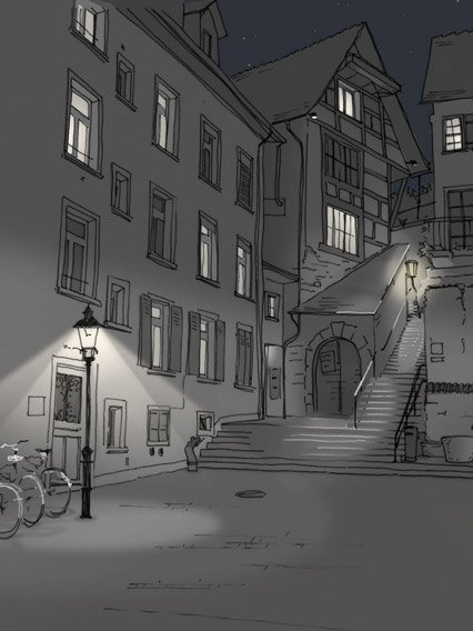 Altstadt<wbr>beleuchtung Schaffhausen